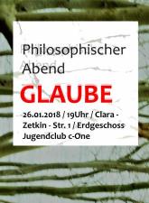 Philosophische Abende des Jugendrates Gera 2017 – 2020